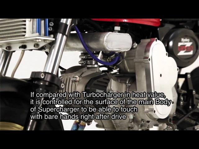 Мотор для питбайка 125 cc с мощностью 28 сил.