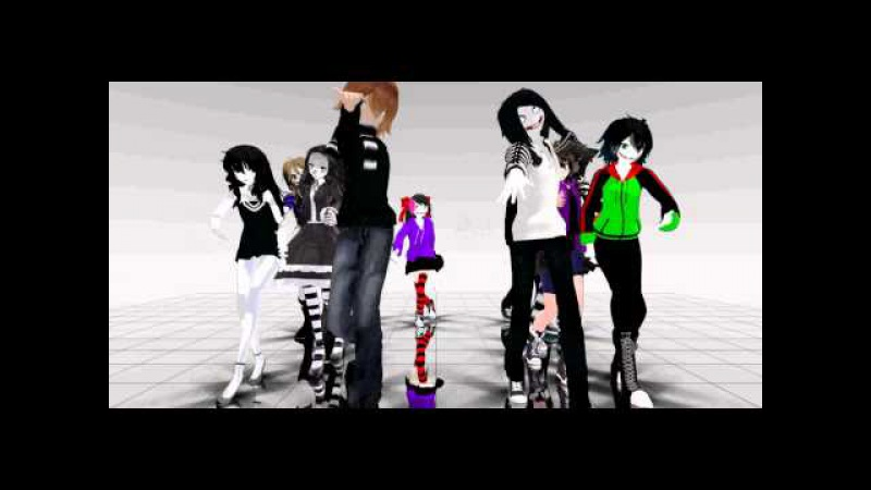 MMD Creepypasta dance