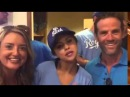 Selena Gomez With Fans At The 2015 Big Slick KC Softball Game For Children's Mercy Hospital