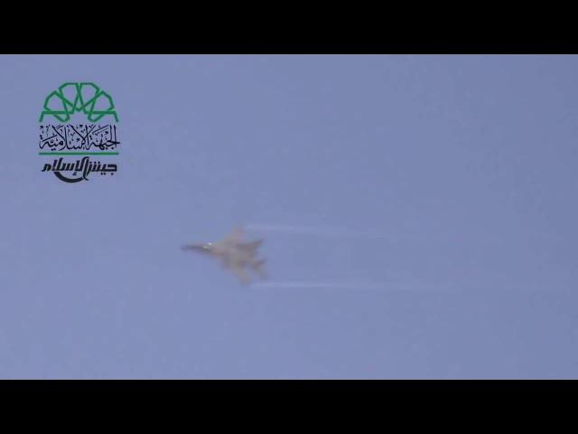 Сирия Миг 29 работает из пушки ГШ 301