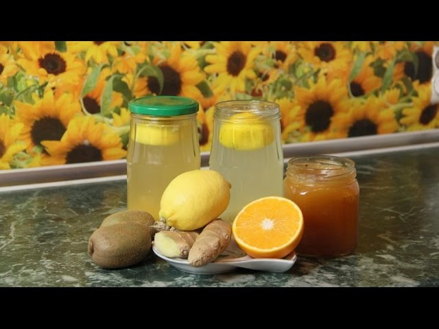 Напиток из имбиря и лимона напиток для похудения