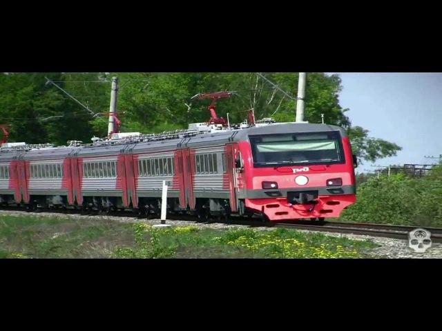 Железнодорожный транспорт для детей видео нарезки Презентация по Доману