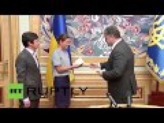 Украина: Порошенко дает России политик Мария Гайдар национальное гражданство.