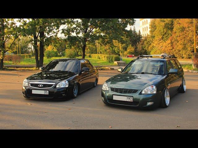 Дагестанский БПАН против «стенса»сравнительный тест заниженных Lada Priora (Обзор Авто) | AutoReview