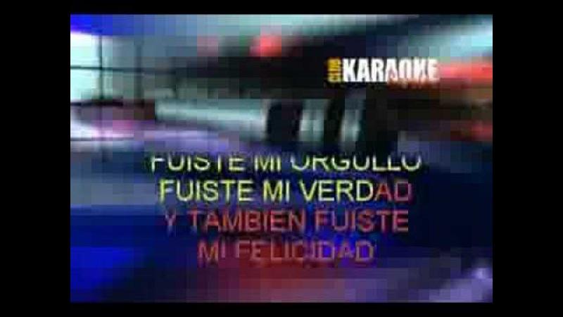 Gilda - Fuiste karaoke