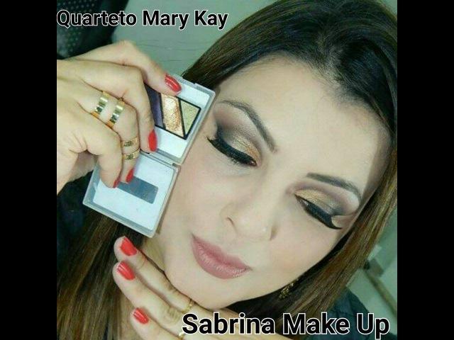 Maquiagem c/ o quarteto Autumn Leaves Mary Kay por Sabrina Make Up