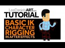 After Effects Tutorial Basic IK Character Rigging