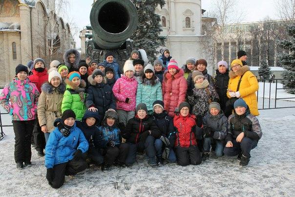 Бардымские гимназисты в Москве