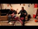 Папа и сын сели за инструменты дочери - http://vk.com/sasisa_ru