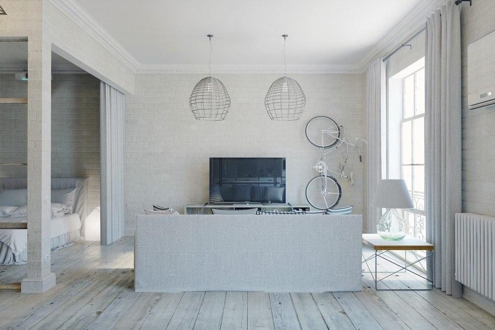 Концепт студии от дизайнера Антона Медведева, Киев.