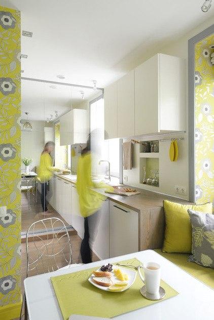 Дизайн маленькой квартиры 23 м в Москве от Владиславы Гравчиковой.