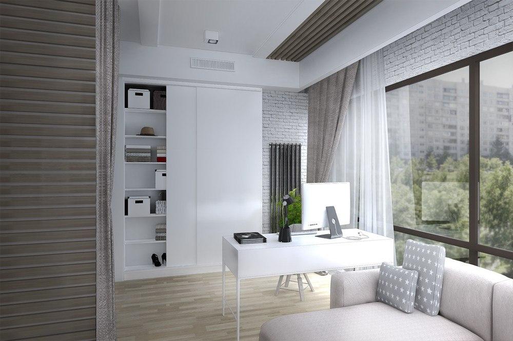 Проект квартиры 38 м.