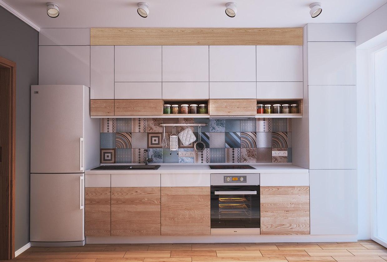 Проект квартиры-студии 40 м.