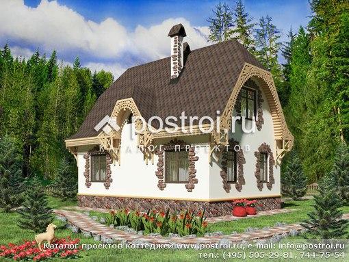 проект двухэтажного дома из пеноблоков 100 м2 скачать бесплатно в pdf