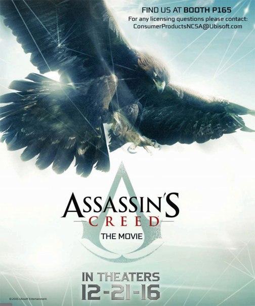 Промо-постер экранизации игры  Creed»: