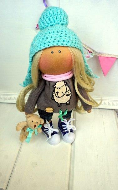 Милые и нежные куклы малышки. (5 фото)