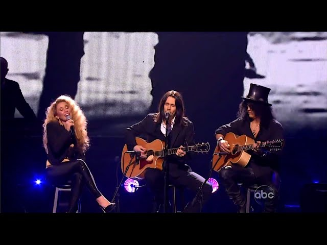 Haley Reinhart, Slash and Myles Kennedy Wild Horses HD