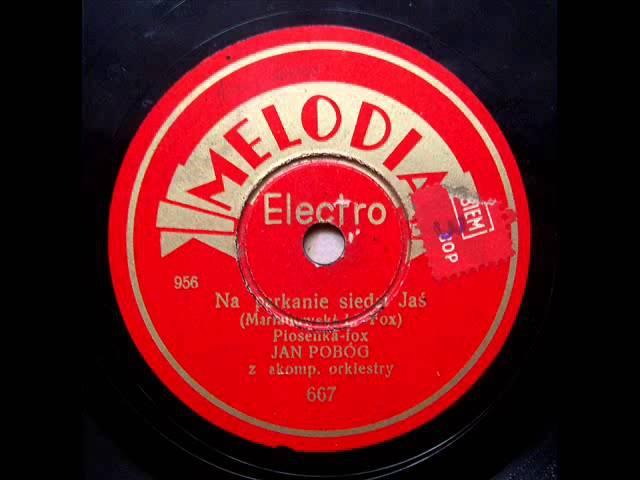 Peter Leschenko in Poland! Tadeusz Faliszewski sings Кавказ (1937)