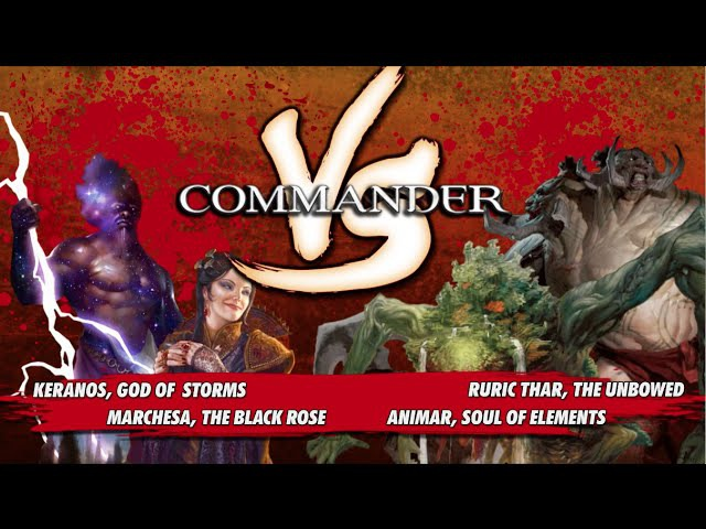 Commander VS S1E2: Keranos v. Marchesa v. Animar v. Ruric Thar [MTG Multiplayer]