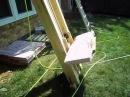 Home built roofing shingle lift