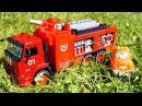 Мультики про машинки: Чак и его друзья! ПОЖАР - Тушение пожара! Мультик про Пожарную машину!