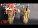 DIY Up Drip Flower Vase From Waste Cloth How to Make JK Arts 491