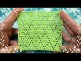 Crochet pattern. Вязание крючком. Вязание крючком узора.
