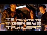 TERMINATOR 2 characters react to TERMINATOR: GENISYS trailers