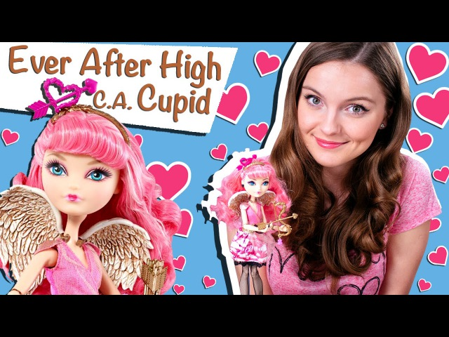 C.A. Cupid (Купидон Долго и Счастливо) Ever After High Обзор и Распаковка /Review, BDB09