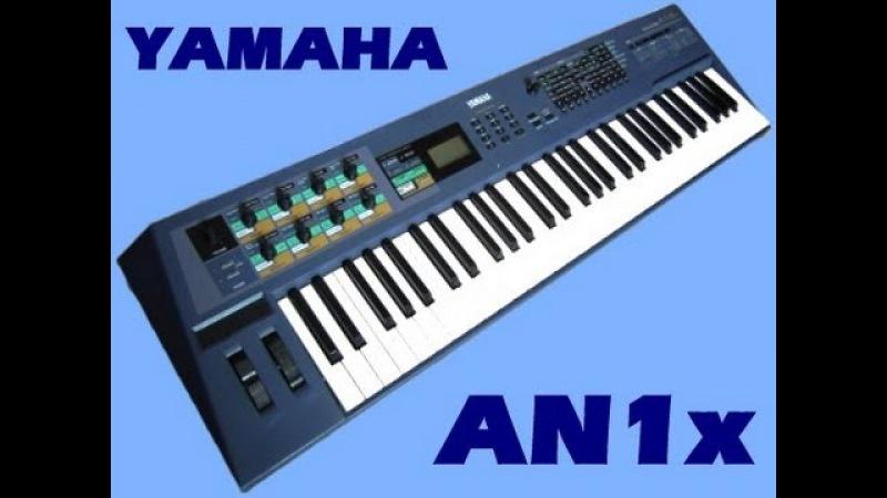 YAMAHA AN1x VA Synthesizer (1997)