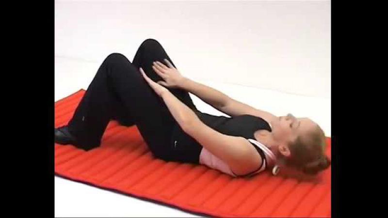 Гимнастика для поясничного отдела при остеохондрозе видео
