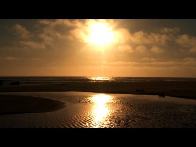 Zen Ocean of Bliss- Golden California Coast- Relaxation, Meditation, Mindfulness
