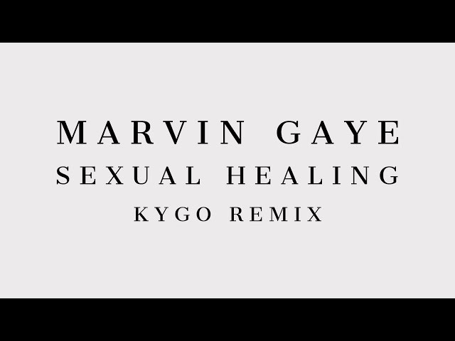 Marvin Gaye - Sexual Healing (Kygo Remix) [Cover Art]