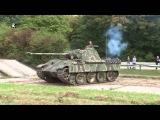 Фашистский танк Пантера восстановлен и на ходу