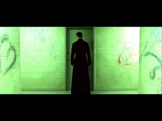 The Matrix Reloaded - Neo Superman scene FULL HD