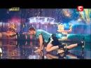 Украина мае талант 5 - Денис Шерстюк (отжимания)