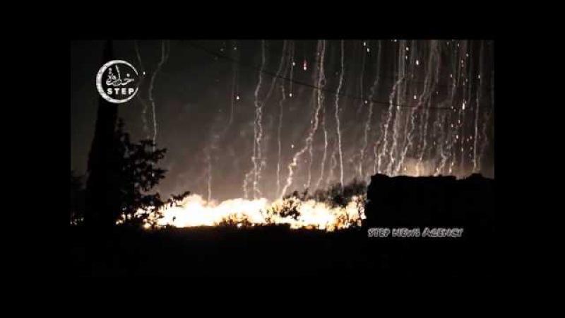 Росія почала бомбардування сирійських міст, контрольованих анти-асадівською опозицію, фосфорними бомбами