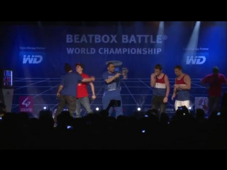 TwenTeam8 vs K-Pom - 1_2 Final - 4th Beatbox Battle World Championship
