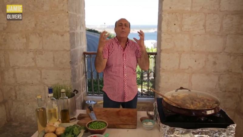 Кулинарный канал Джейми Оливера. Серия 1 Дженнаро Контальдо - Классическая тушеная баранина по-итальянски.