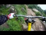Велосипедист 80 лвл. Вот это адреналин!