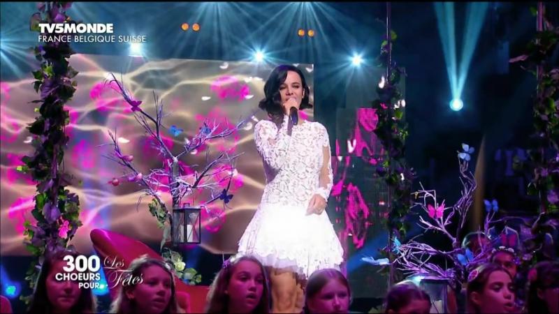 Alizee - Tendre reve (300 choeurs pour les fetes Live)
