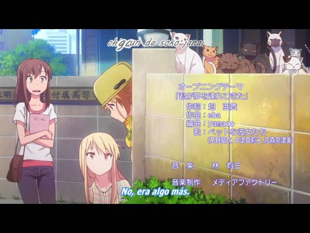 Sakurasou no Pet na Kanojo Opening Sub Español