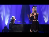 Miley Cyrus Performs 'Hands of Love' with Linda Perry