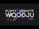 Abstrasension Evening w WoodJu, Unquote, Glimsy