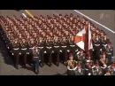 Марш Прощание Славянки 2014 г