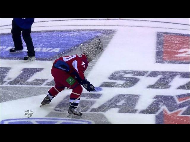 KHL All Star: Рыбка Миловзорова / Milovzorov's fish'n'score