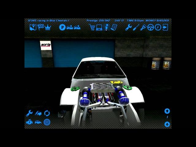 (SLRR) Сборка двигателя V6 2000л.с