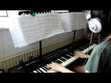 Haggard - Awaking the Centuries - piano cover