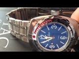 Обзор часов. Обзор часов Восток Амфибия 2415. Первый взгляд