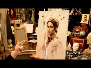 Что такое муштабель - Обучение живописи. Масло. Введение, 6 серия » Freewka.com - Смотреть онлайн в хорощем качестве